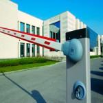 Автоматический шлагбаум для работы на автостоянках